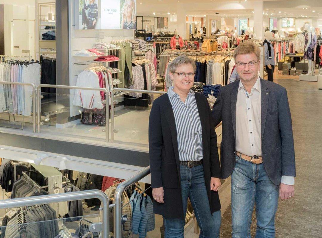 Beate und Meinrad Bruns | Modehaus Bruns Billerbeck