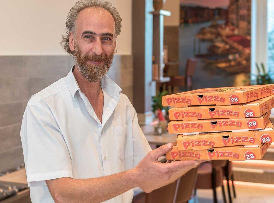 Nemat Afshar | Pizza Zentral | Billerbeck