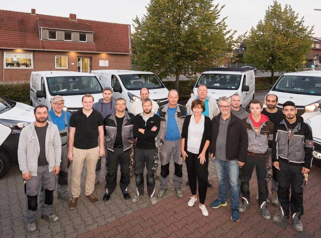 Teamfoto Meiners+Lanfer Billerbeck